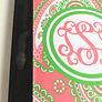 BLOOPER: Monogrammed Notebook iPad 2/3/4 Case