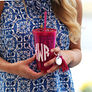 Monogrammed Acrylic Cup