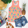 monogrammed pineapple tanks