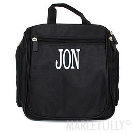Monogrammed Hanging Toiletry Kit