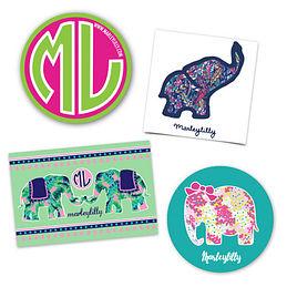 Marleylilly Sticker Set