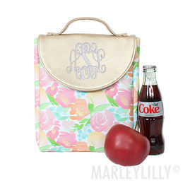 Monogrammed Lunch Box