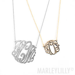 Monogrammed Signature Necklace