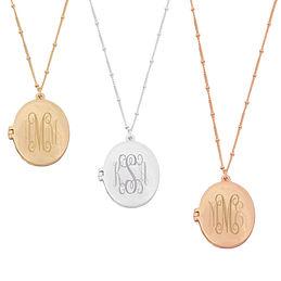 Monogram necklace marleylilly monogrammed pineapple necklace 2999 2999 aloadofball Choice Image