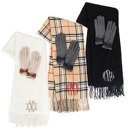 monogrammed scarves