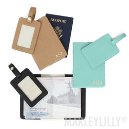 Monogrammed Travel Accessories