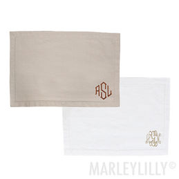 Monogrammed Placemats