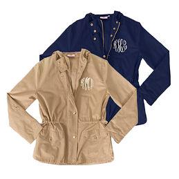 Monogrammed Field Jacket
