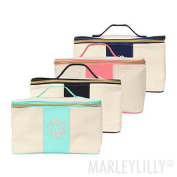 Monogrammed Essential Train Case
