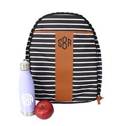 Monogrammed Travel Backpack