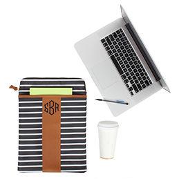Monogrammed Laptop Sleeve