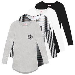 Monogrammed Tunic Shirt