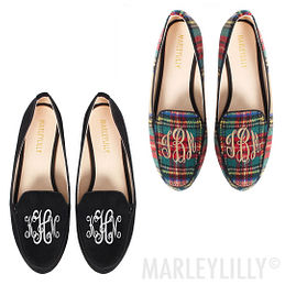 Monogrammed Loafers