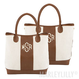 Monogrammed Expandable Purse