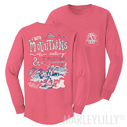 Monogrammed Ski Lodge T-Shirt