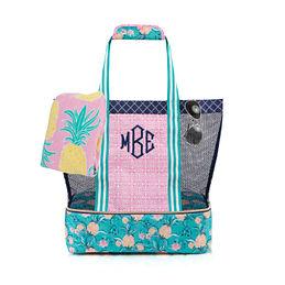 Monogrammed Beach Bag 49 99