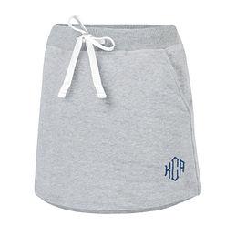 Monogrammed Skirt