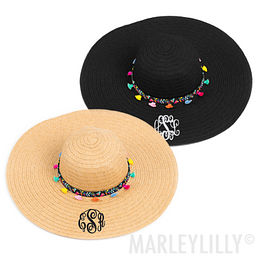 Monogrammed Mexicali Sun Hat