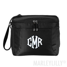 Monogrammed 12 Can Cooler