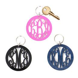 Acrylic Monogrammed Key Chain