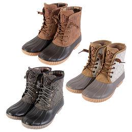 Monogrammed Duck Boots for Women