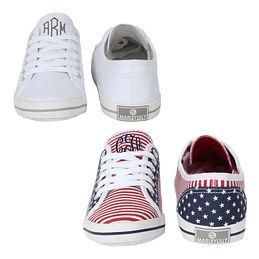 Monogrammed Sneakers