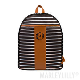 Monogrammed Travel Backpack