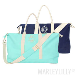 Monogrammed Essential Travel Bag