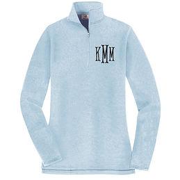 Personalized Sweatshirt Monogram Womans Stretch Full Zip Up Sweatshirt Monogram sweatshirt Bridesmaid Gift