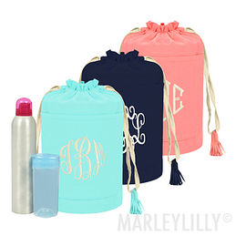 Monogrammed Essential Ditty Bag