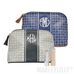Monogrammed Spencer Cosmetic Bag