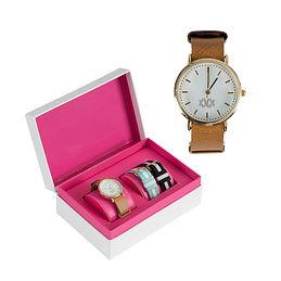 Monogrammed Watch Set