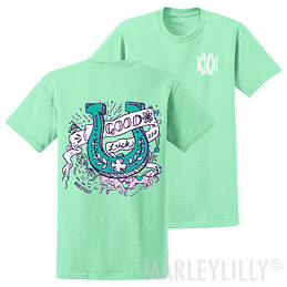 Monogrammed Good Luck Horseshoe T-Shirt