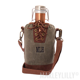 Personalized Growler Tote