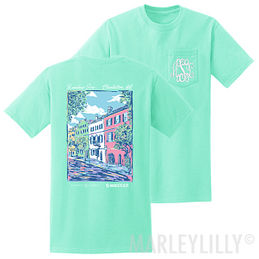 Monogrammed Rainbow Row T-Shirt