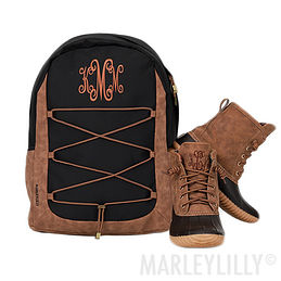 Monogrammed Backcountry Backpack