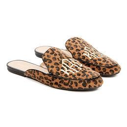 Monogrammed Slide on Loafers