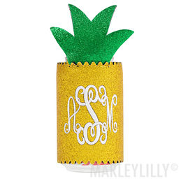 Monogrammed Pineapple Koolie