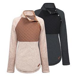 Asymmetrical Snap Pullover Tunic