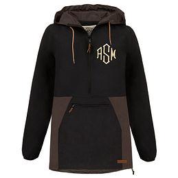 Monogrammed Pullover Rain Jacket
