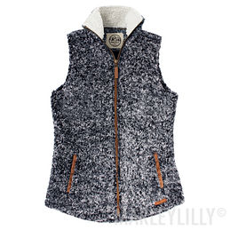 Heathered Sherpa Vest