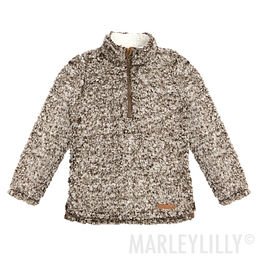 Kids Heathered Sherpa Pullover Tunic