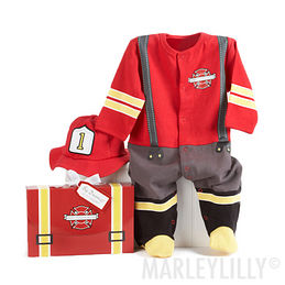 Baby Fire Fighter Gift Set