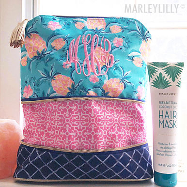 Expandable Cosmetic Bag