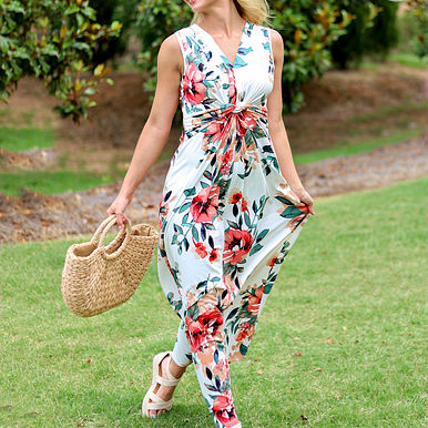Started With a Kiss Maxi Dress