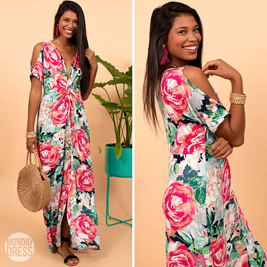 Making A Point Maxi Dress