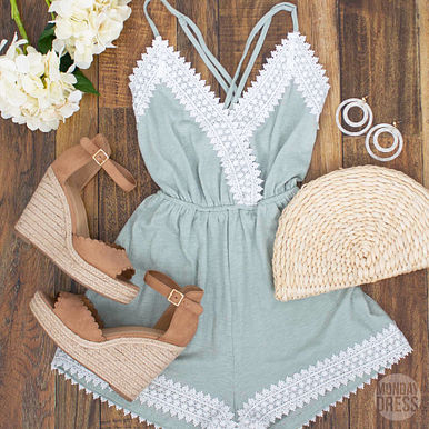This Is The Life Romper