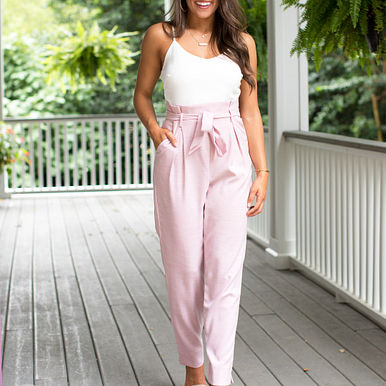 Save My Soul Jumpsuit in Pink