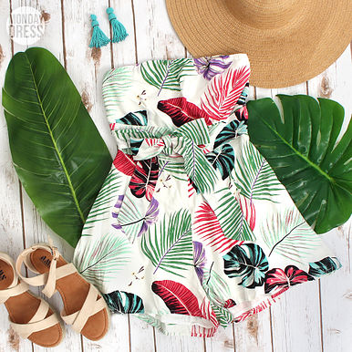 Trips To The Tropics Romper RESHOW