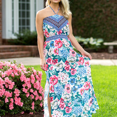 Lost In Paradise Maxi Dress RESHOW